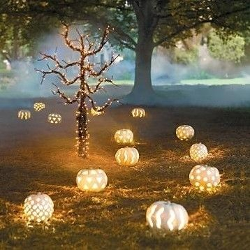 The Event Group, Halloween Parties, Pittsburgh, events, Event Group Productions, pumpkins, glowing, fall, decorations