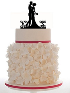 The Event Group wedding cake topper