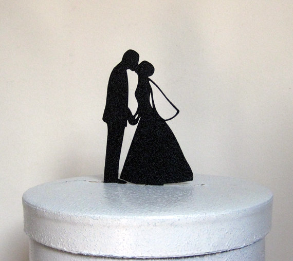 The Event Group, Pittsburgh weddings, wedding cake topper, silhouette