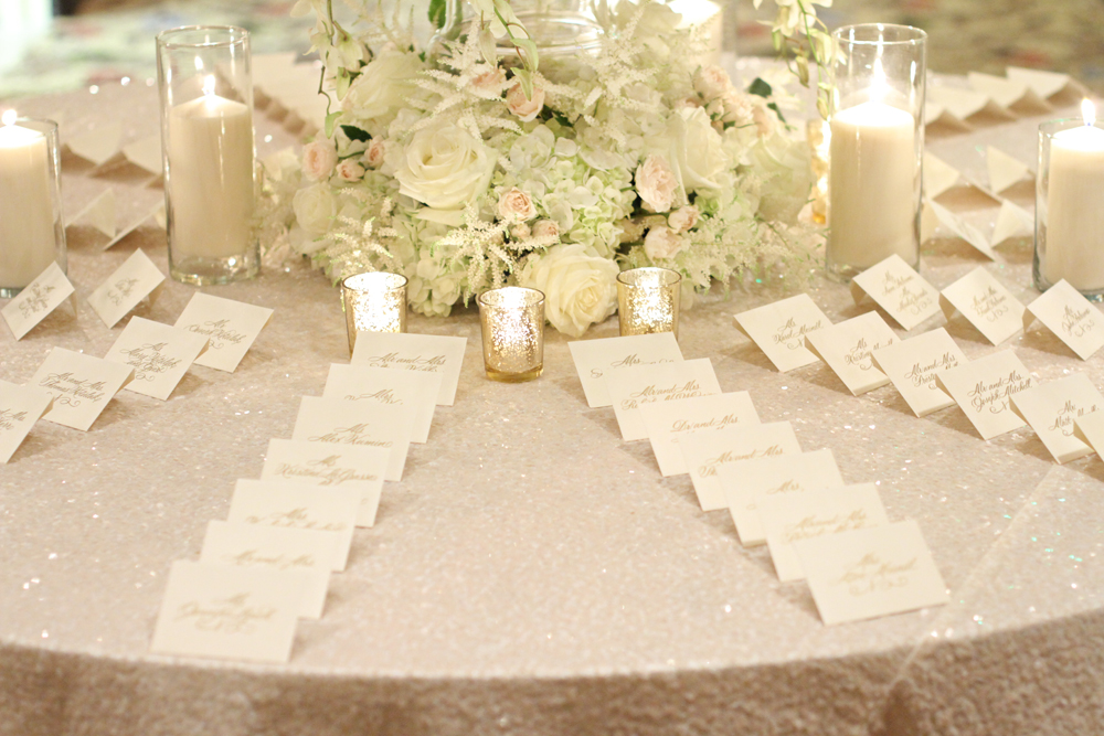 The Event Group | Pittsburgh | wedding planning | escort card tables