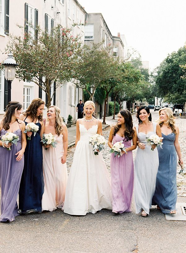 The Event Group | Pittsburgh, PA | event planner | wedding planner | bridesmaid dresses | Bella Bridesmaid | ombre
