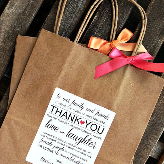 Welcome To Our Wedding Weekend Gift Bags: Hotel Bags Ideas For Out Of Town Guests By The Event Group