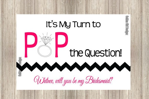 The Event Group | Pittsburgh, PA | event planner | wedding planner | how to ask your bridesmaids | bridal party | cards
