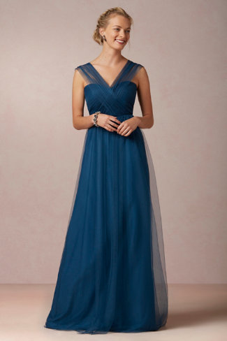 BHLDN Annabelle bridesmaid dress | The Event Group, Pittsburgh Wedding and Event Planning
