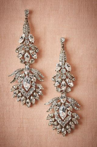 BHLDN Fitzgerald chandelier earrings | The Event Group, Pittsburgh wedding and event company