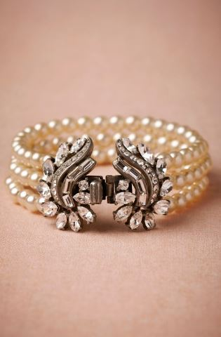 BHLDN Luna Bracelet | The Event Group, Pittsburgh wedding and event team