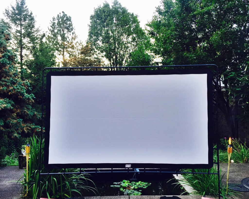 End of Summer Movie Party | The Event Group, Pittsburgh wedding and event planner