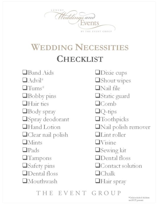 necessities and essentials for weddings and events the event group pittsburgh wedding and event