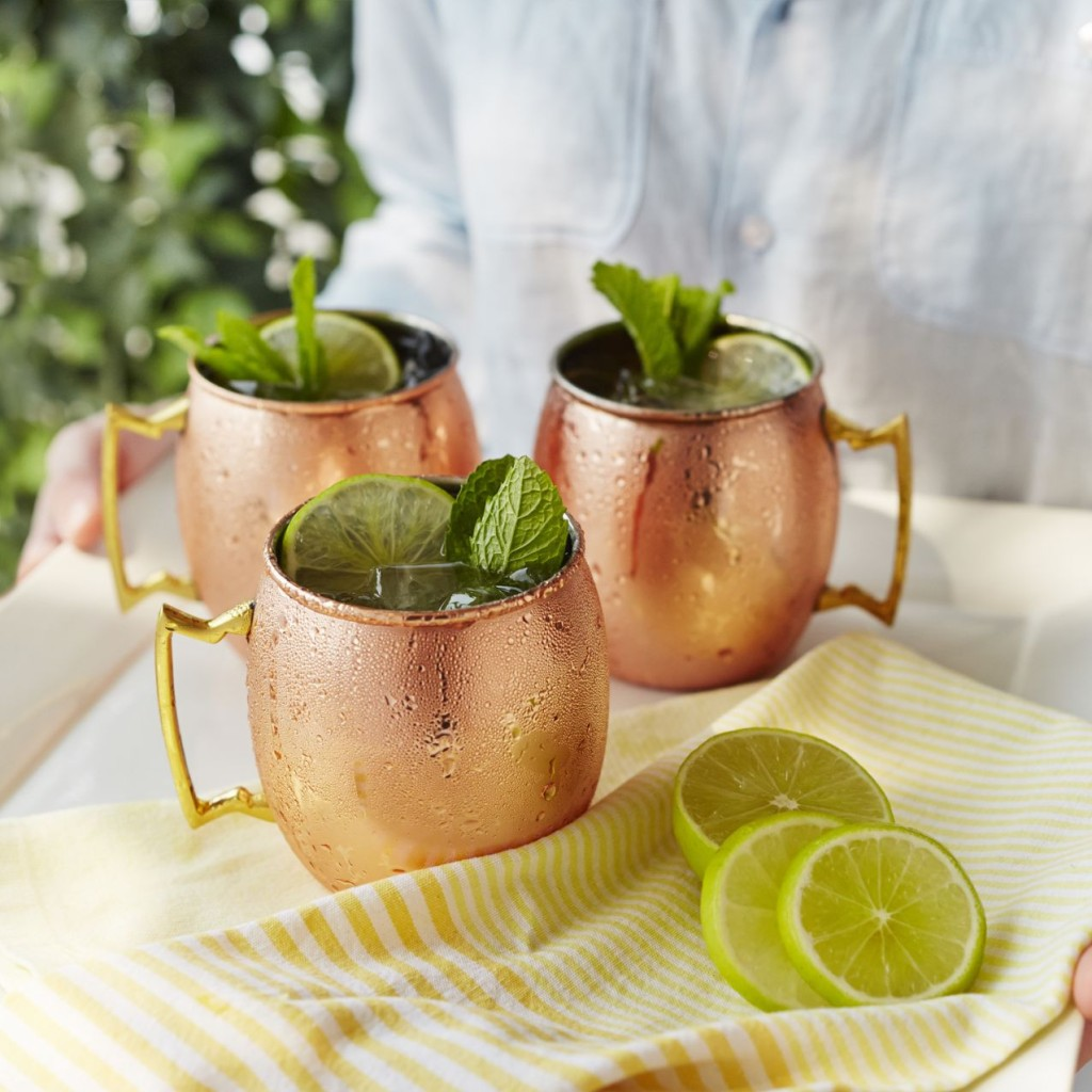 Entertaining Essentials: Moscow Mule Copper Mugs | The Event Group, Pittsburgh wedding and event planners